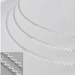 Zdjęcie - Srebrny łańcuszek simple, Ag925 z zapięciem