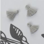 Zdjęcie - Mini chwost bawełniany siwy