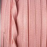 Zdjęcie - Rzemień szyty różowy płaski