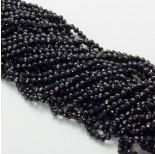 Zdjęcie - Czarny spinel kulka fasetowana czarna