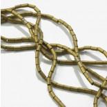 Zdjęcie - Hematyt walec platerowany stare złoto