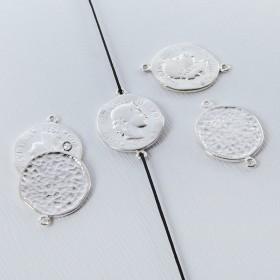 Zdjęcie - Srebrna moneta antyczna łącznik