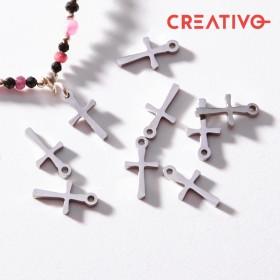 Zdjęcie - Zawieszka ze stali chirurgicznej krzyż