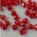 Zdjęcie - Fire Polish Silver Lined Siam Ruby (SL90080)