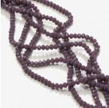 Zdjęcie - Kryształki oponki fasetowane ceramic purple