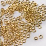 Zdjęcie - Kółeczka sprężynki GOLDFILLED AU585 złoty