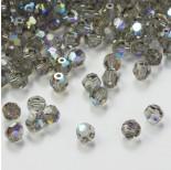 Zdjęcie - 5000 kulka, SWAROVSKI, black diamond AB,