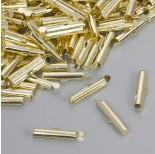 Zdjęcie - Końcówki w kolorze złotym do płaskich bransoletek