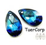 Zdjęcie - 6106 almond pendant, SWAROVSKI, bermuda blue,