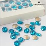 Zdjęcie - Kryształy Rhinnes flat diamond blue lagoon