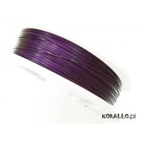 Zdjęcie - Linka stalowa fioletowa