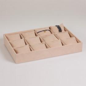 Zdjęcie - Ekspozytor na bransoletki z poduszkami 12 komorowy