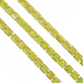 Zdjęcie - Kostki crackle żółte