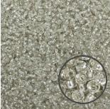 Zdjęcie - SeedBeads Round 12/0 Silver-Lined Crystal