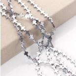 Zdjęcie - Hematyt krzyż błyszczący srebrny