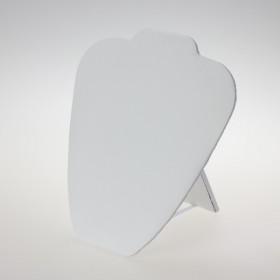 Zdjęcie - Ekspozytor na naszyjnik płaski biały