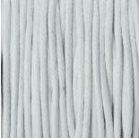 Zdjęcie - Sznurek bawełniany woskowany biały