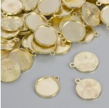 Zdjęcie - Baza do zawieszki w kolorze złotym