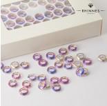 Zdjęcie - Kruształy Rhinnes ring cut heliotrope