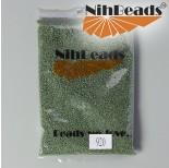 Zdjęcie - Koraliki NihBeads Metallic Frosted Pale Green