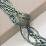 Zdjęcie - Hematyt platerowany prostokąt zaokrąglony emarald mat