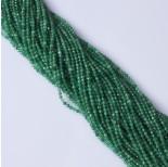 Zdjęcie - Onyks zielony kulka fasetowana
