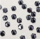 Zdjęcie - 5060 Hexagon Spike bead jet hematite