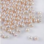 Zdjęcie - Perły naturalne do kolczyków łezki białe