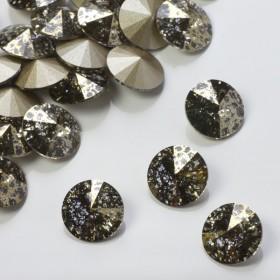 Zdjęcie - 1122, rivoli stone, SWAROVSKI, gold patina