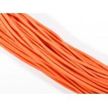 Zdjęcie - Gumka pleciona okrągła neonowa pomarańczowa