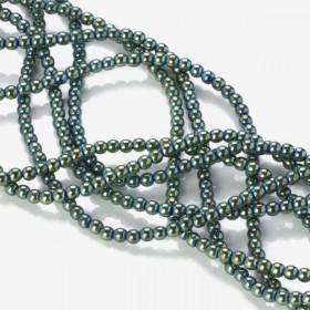 Zdjęcie - Hematyt kulki platerowane emerald