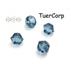 Zdjęcie - 5328 bicone bead, SWAROVSKI, denim blue