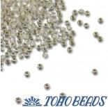 Zdjęcie - Koraliki TOHO Round Silver-Lined Frosted Crystal
