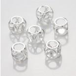 Zdjęcie - Koralik Kryształek w kostce crystal