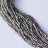 Zdjęcie - Kryształki oponki fasetowane steel grey AB