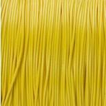 Zdjęcie - Sznurek powlekany żółty