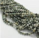 Zdjęcie - Agat mszysty bryłka diamentowa zielona