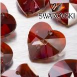 Zdjęcie - 6202 serce SWAROVSKI red magma