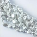 Zdjęcie - Perły seashell nugget białe