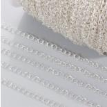Zdjęcie - Łańcuch simple w srebrnym kolorze