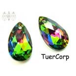 Zdjęcie - 6106 almond pendant, SWAROVSKI, vitrail medium,