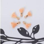 Zdjęcie - Mini chwosty w złotym okuciu brzoskwiniowy