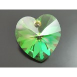 Zdjęcie - 6228 heart pendant SWAROVSKI luminous green