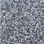 Zdjęcie - Koraliki Matsuno hexagon Silver Lined Lt. Black Diamond