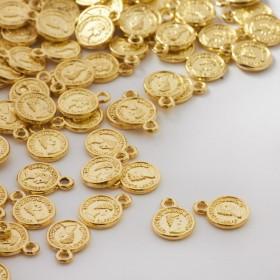 Zdjęcie - Zawieszka metalowa mini moneta