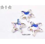 Zdjęcie - 6721 starfish pendant, SWAROVSKI, crystal AB,