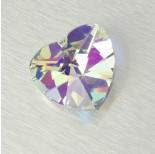 Zdjęcie - 2718 heart, crystal AB