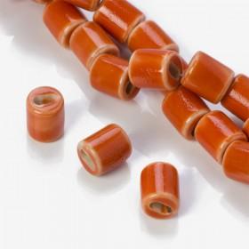 Zdjęcie - Przekładka ceramiczna walec pomarańczowy