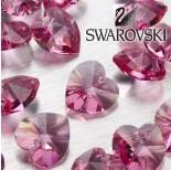 Zdjęcie - 6202 serce SWAROVSKI rose