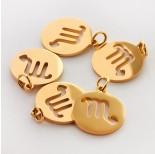 Zdjęcie - Zawieszka ze stali chirurgicznej znak zodiaku Skorpion